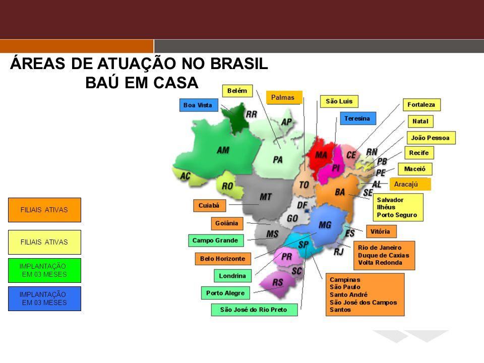 ÁREAS DE ATUAÇÃO NO BRASIL