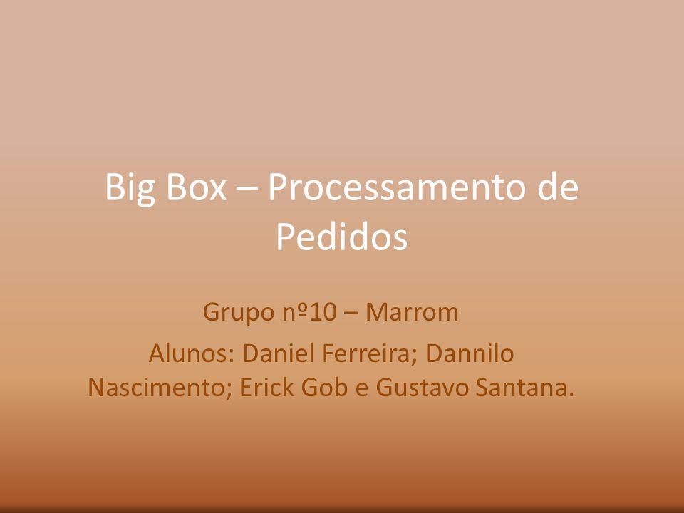 Big Box – Processamento de Pedidos