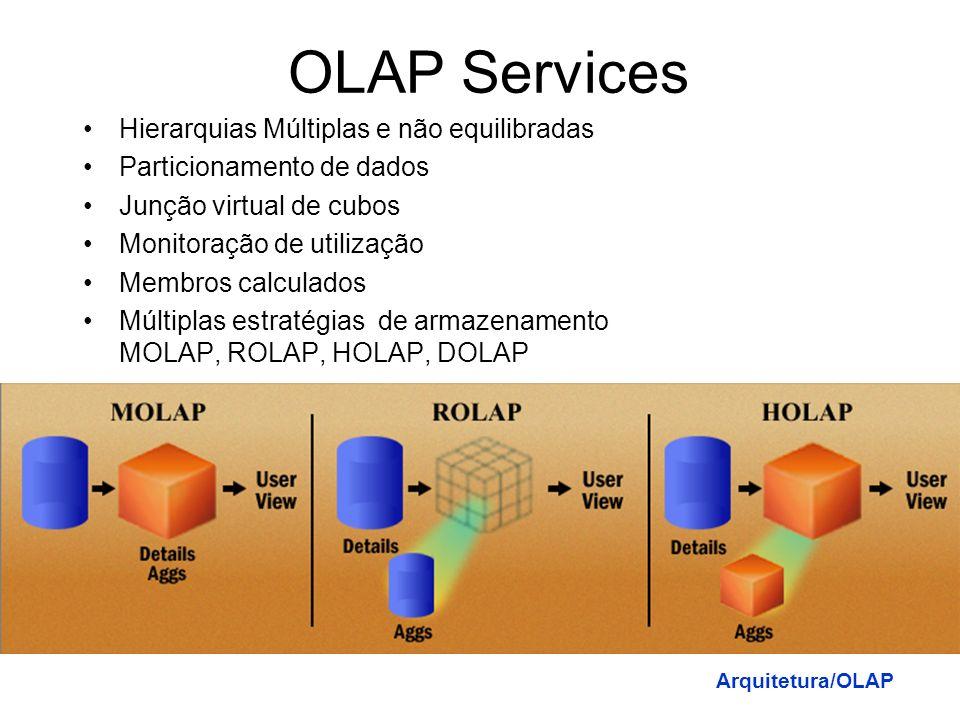 OLAP Services Hierarquias Múltiplas e não equilibradas
