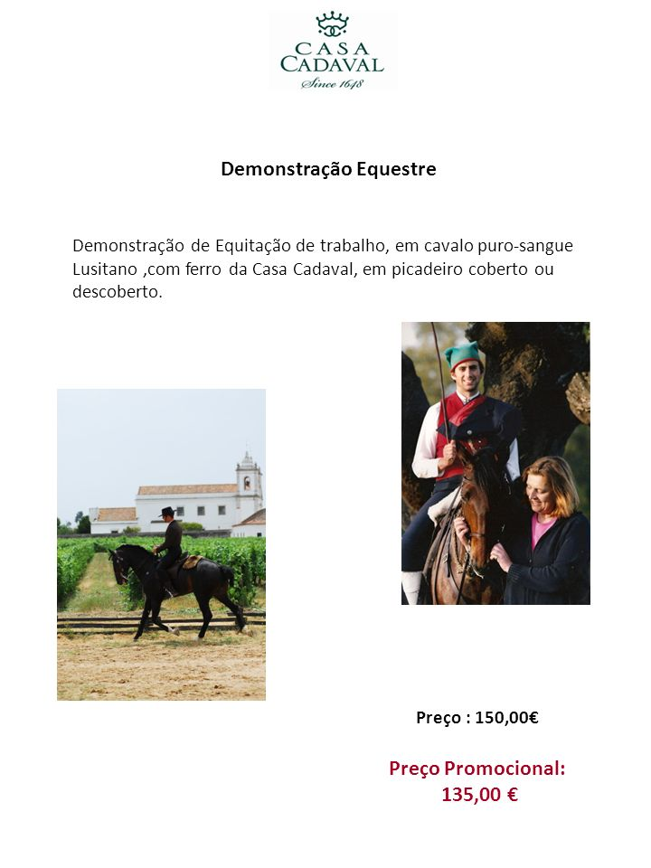 Demonstração Equestre
