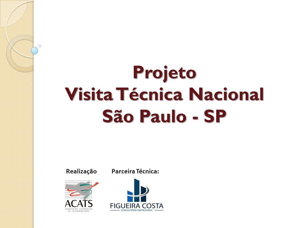 Projeto Visita Técnica Nacional São Paulo - SP