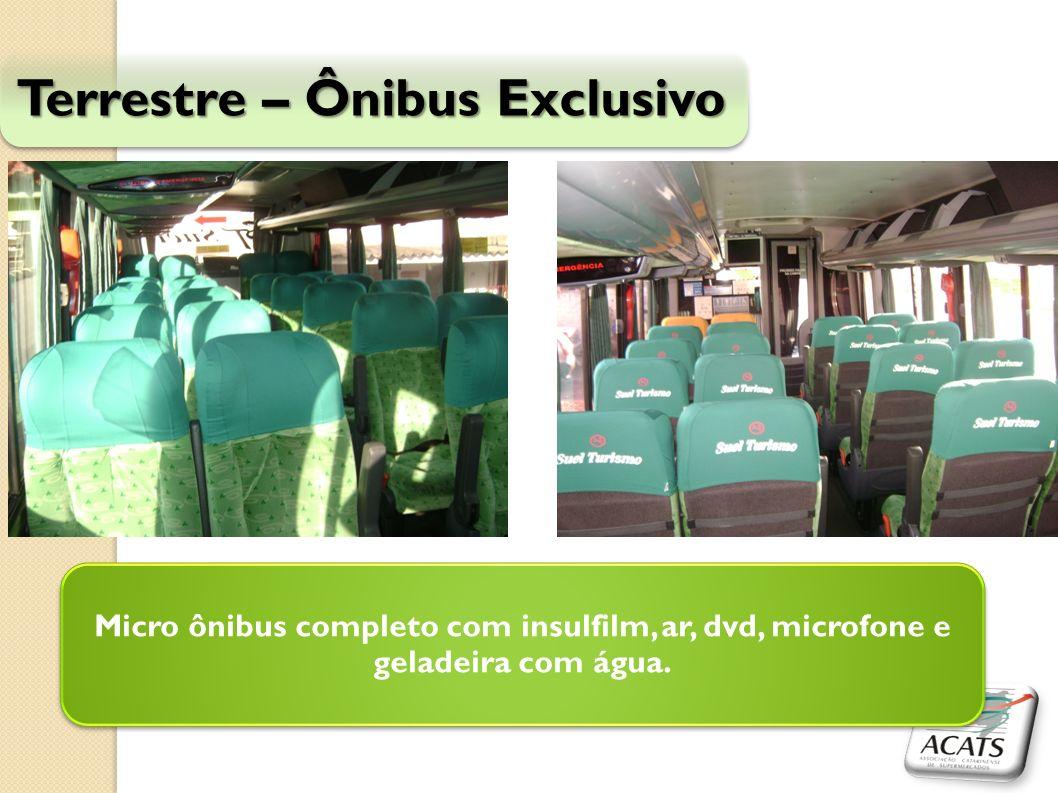 Terrestre – Ônibus Exclusivo