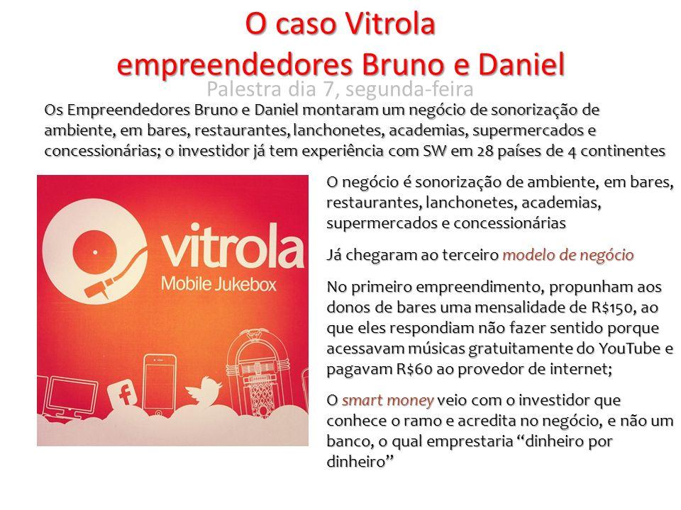 O caso Vitrola empreendedores Bruno e Daniel