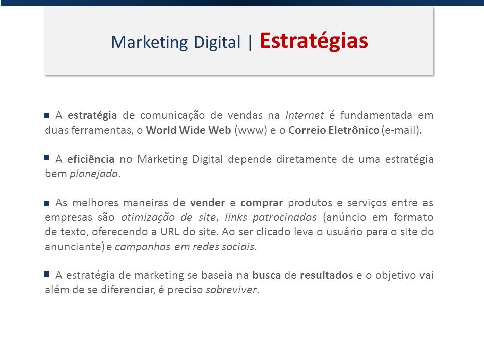 Marketing Digital | Estratégias