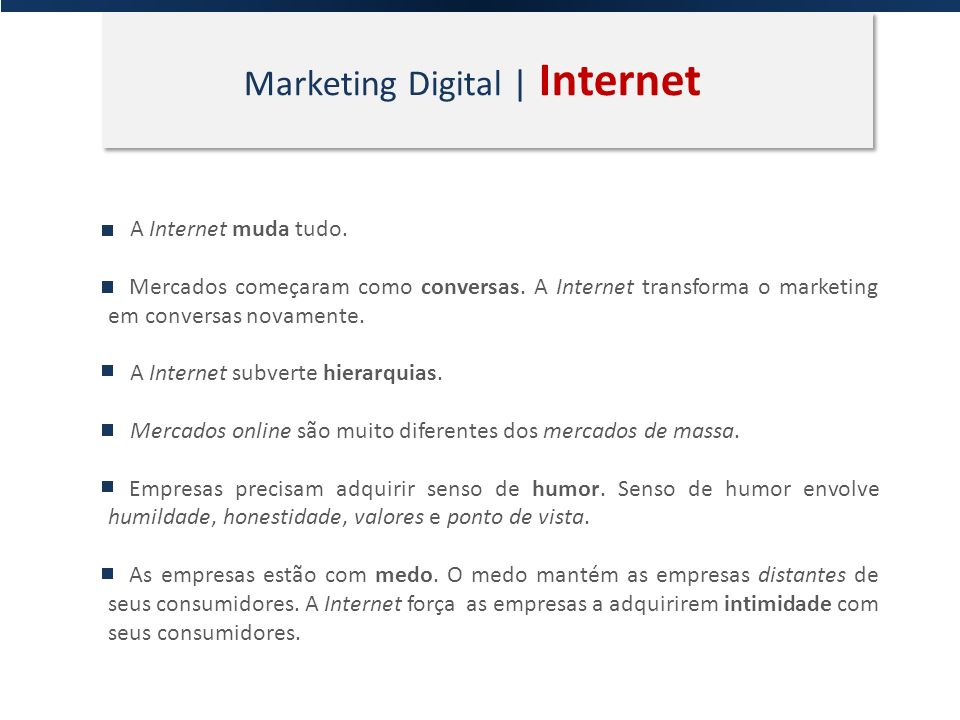 Marketing Digital | Internet