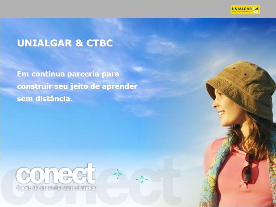 UNIALGAR & CTBC Em contínua parceria para construir seu jeito de aprender sem distância.