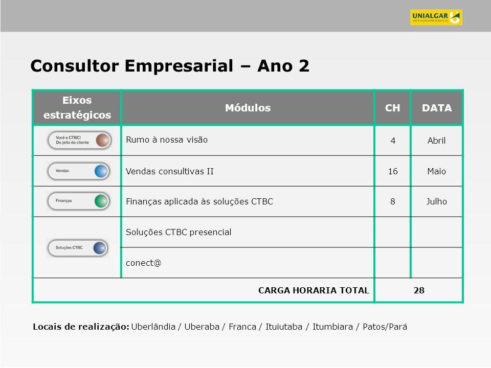 Consultor Empresarial – Ano 2