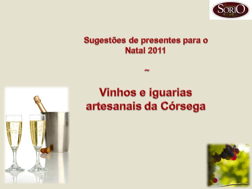 Vinhos e iguarias artesanais da Córsega