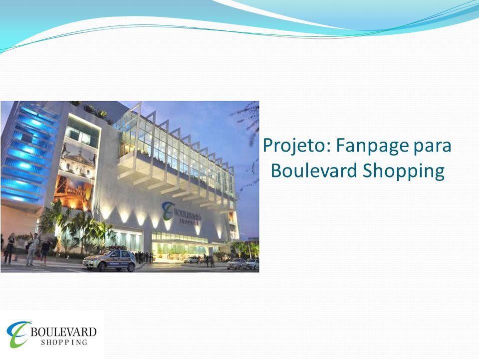 Projeto: Fanpage para Boulevard Shopping