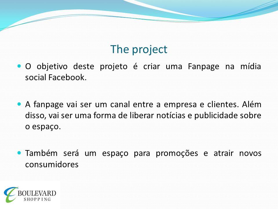 The project O objetivo deste projeto é criar uma Fanpage na mídia social Facebook.