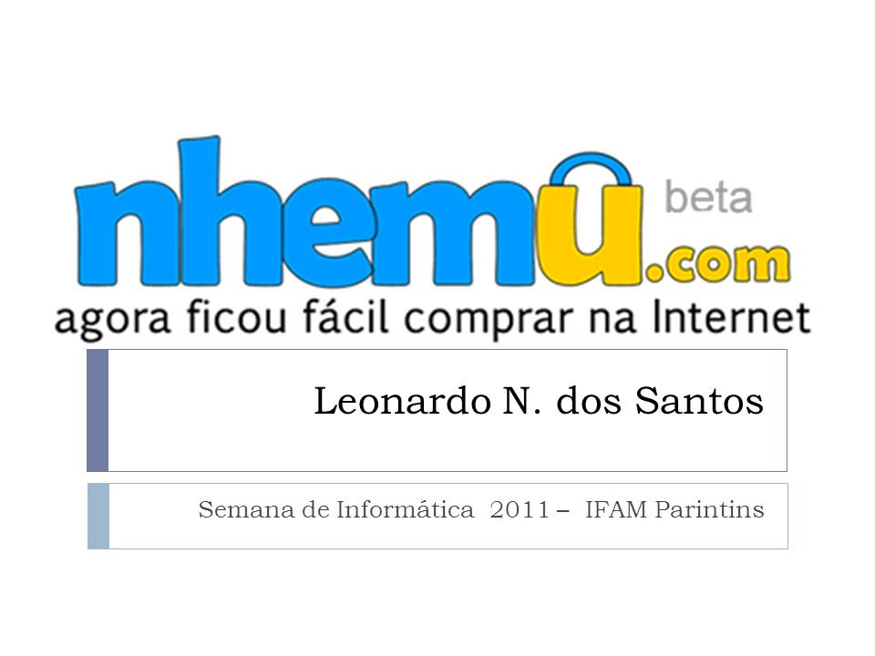 Semana de Informática 2011 – IFAM Parintins