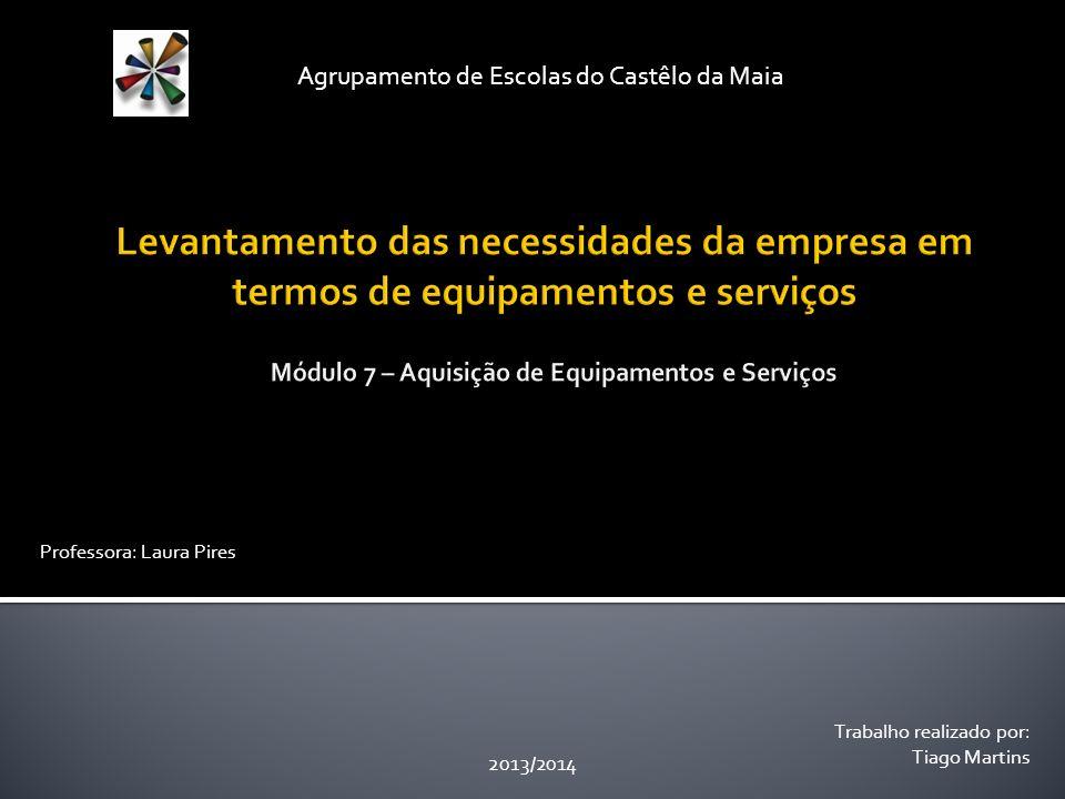 Módulo 7 – Aquisição de Equipamentos e Serviços