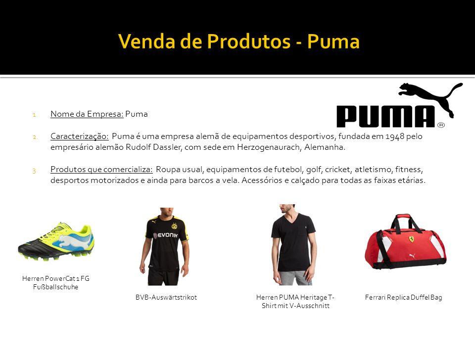 Venda de Produtos - Puma