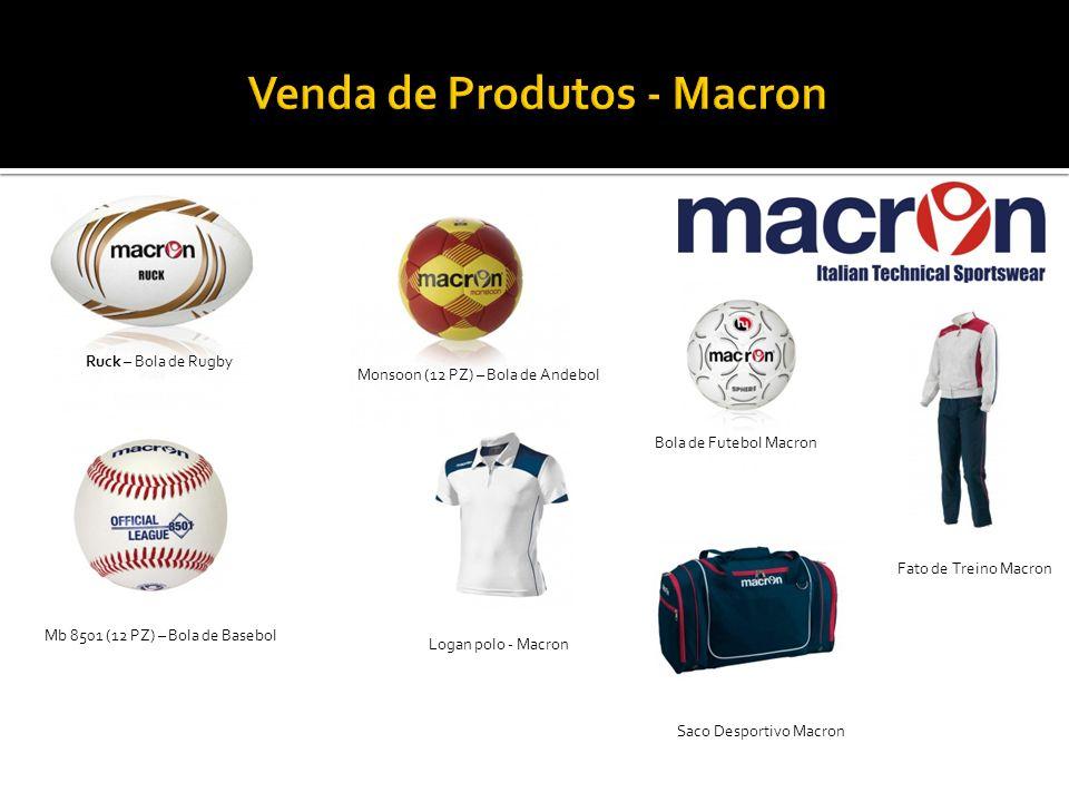 Venda de Produtos - Macron