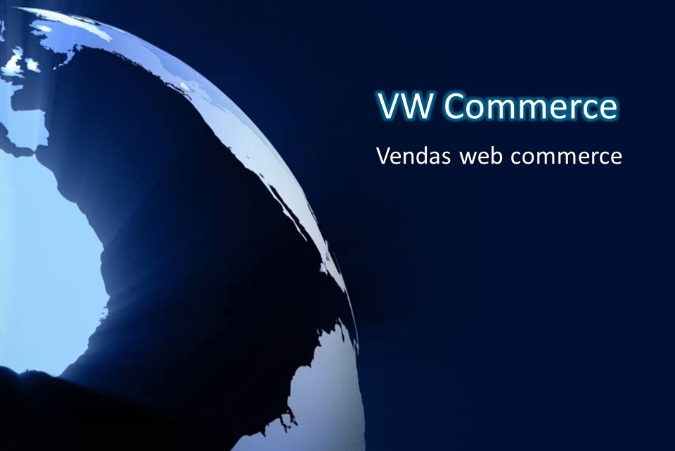 VW Commerce Vendas web commerce
