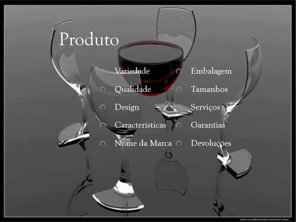 Produto Variedade Embalagem Qualidade Tamanhos Design Serviços