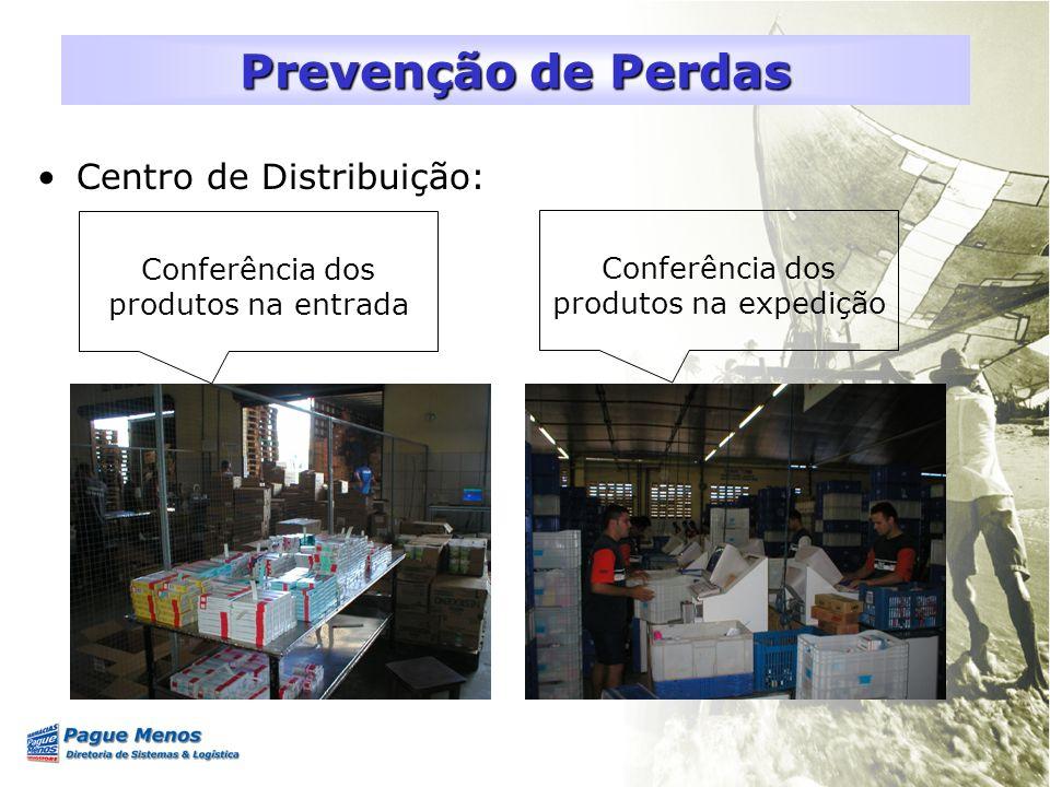 Prevenção de Perdas Centro de Distribuição: