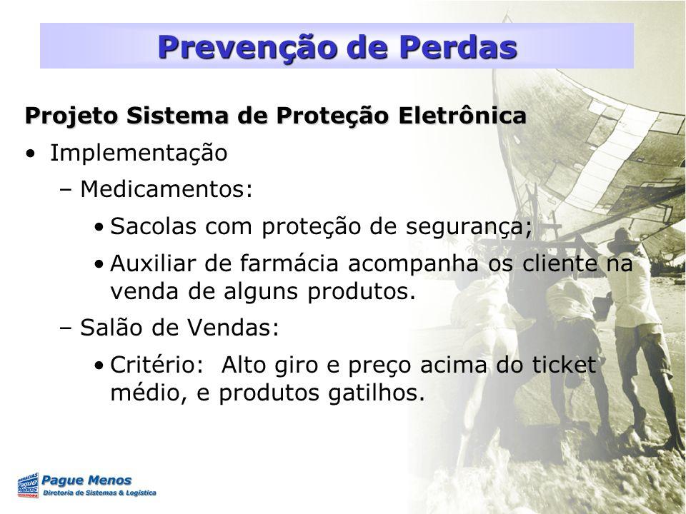 Prevenção de Perdas Projeto Sistema de Proteção Eletrônica