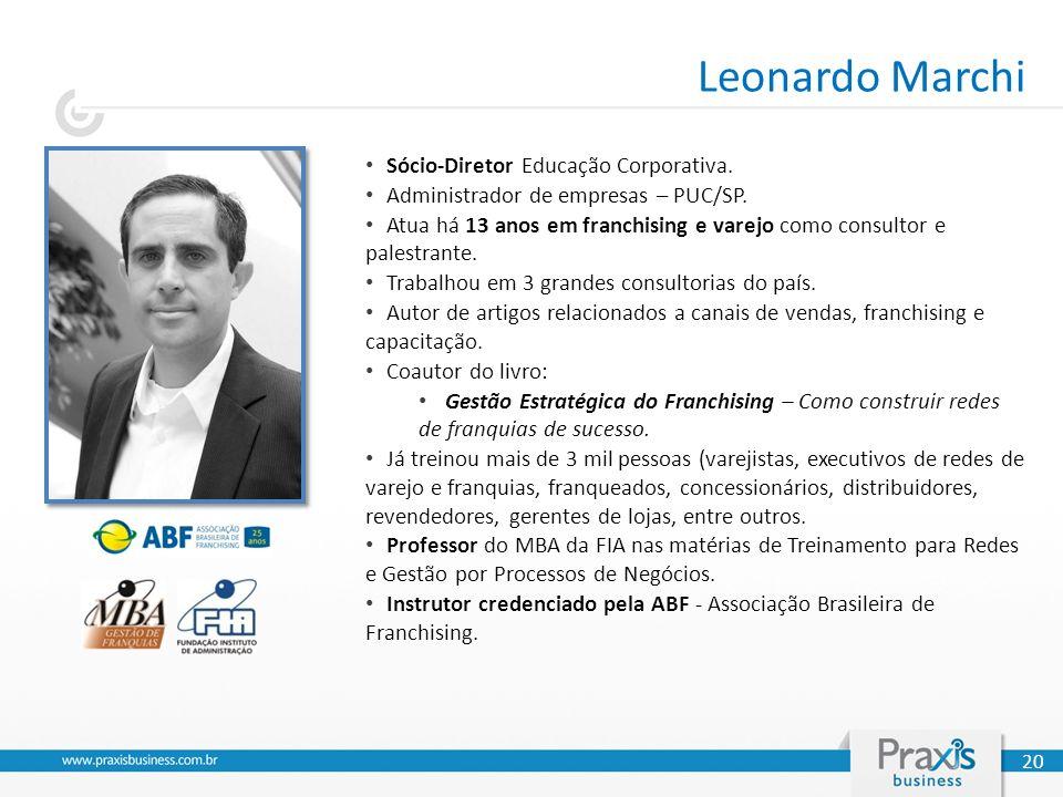 Leonardo Marchi Sócio-Diretor Educação Corporativa.