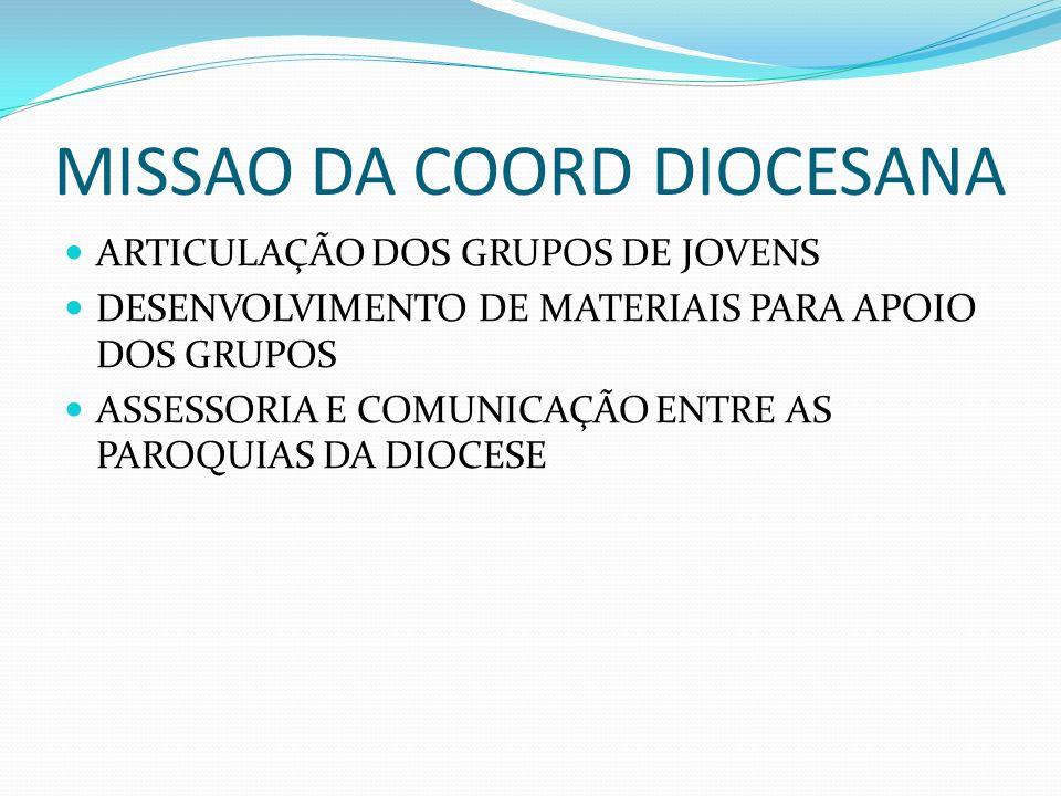 MISSAO DA COORD DIOCESANA