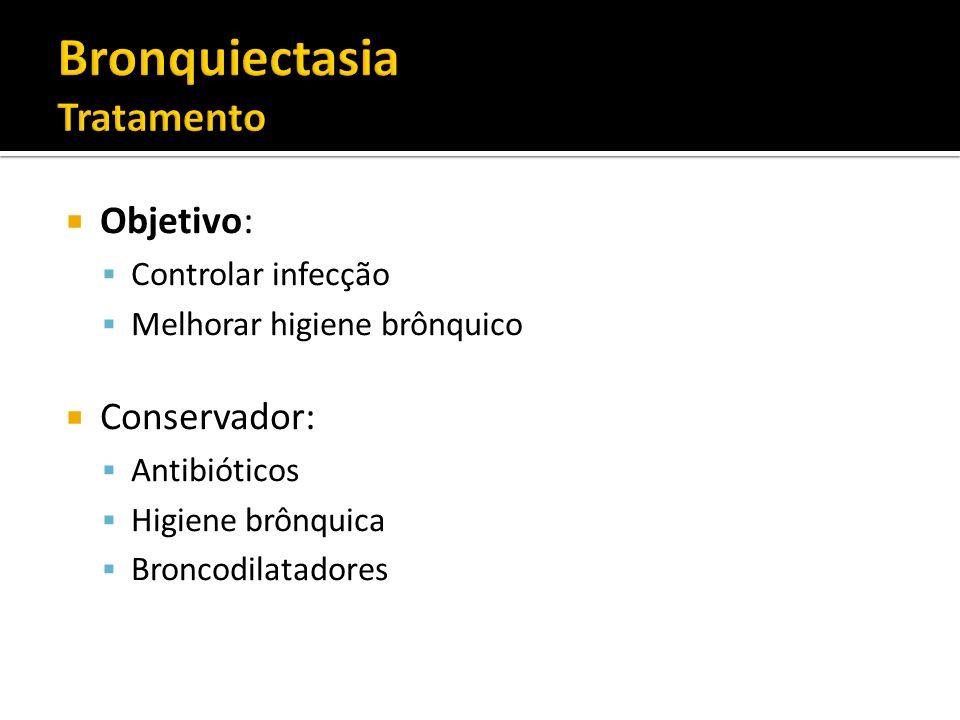 Bronquiectasia Tratamento