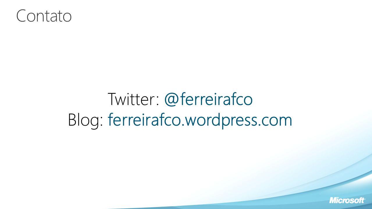 Twitter: @ferreirafco Blog: ferreirafco.wordpress.com