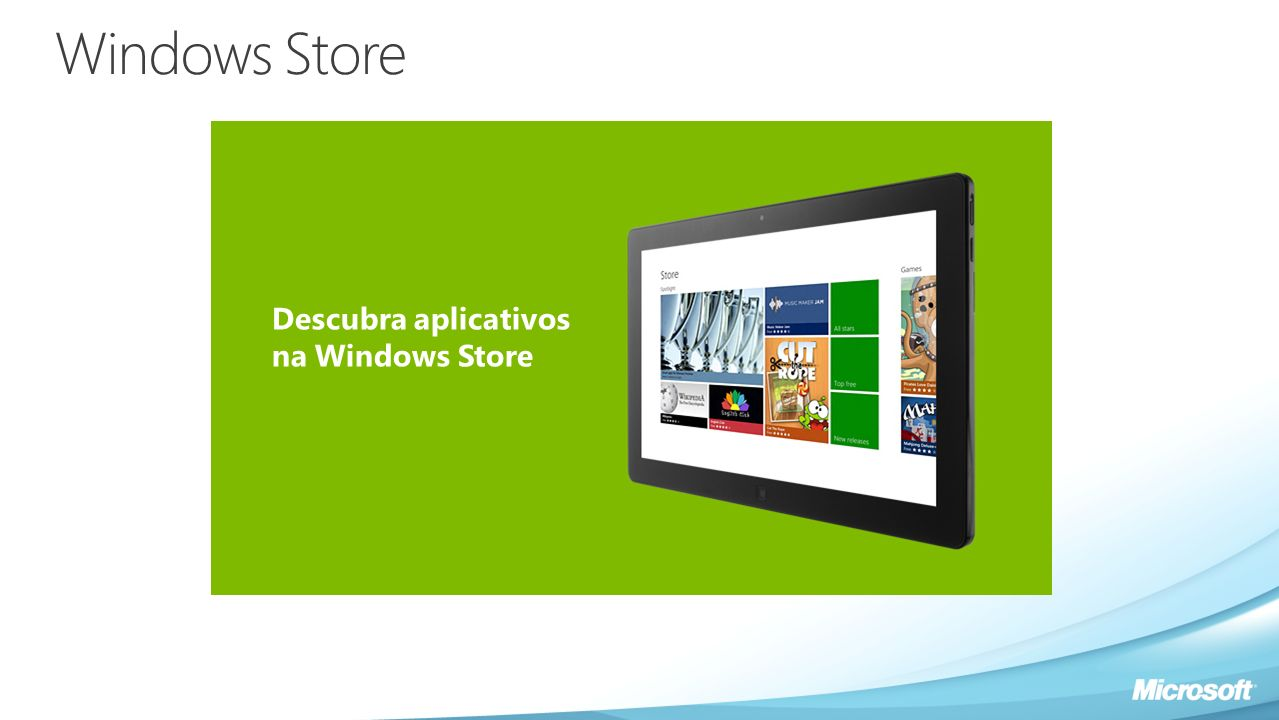 Windows Store Descubra aplicativos na Windows Store