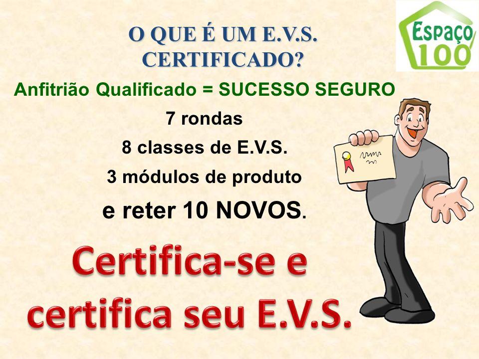 Certifica-se e certifica seu E.V.S.