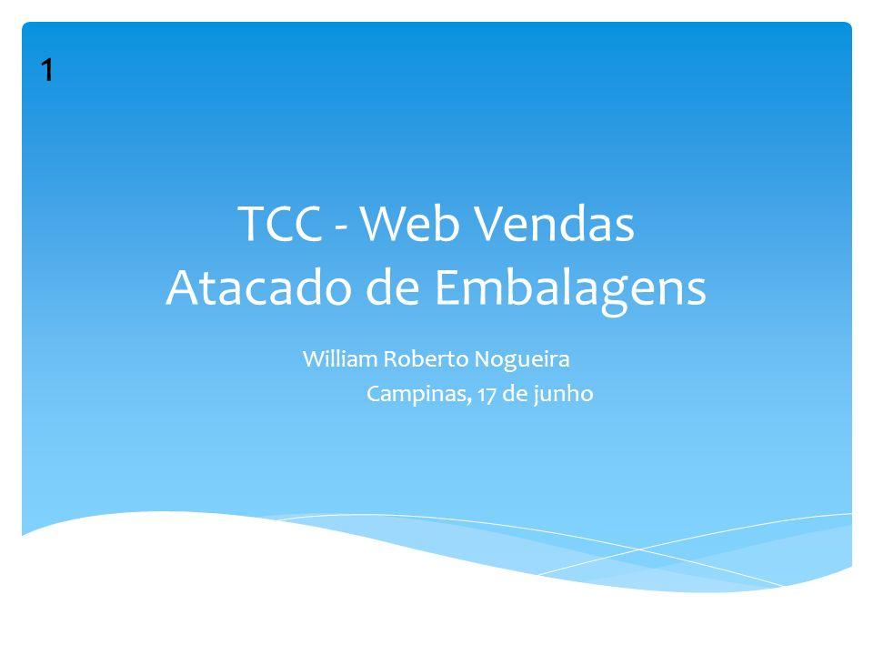 TCC - Web Vendas Atacado de Embalagens