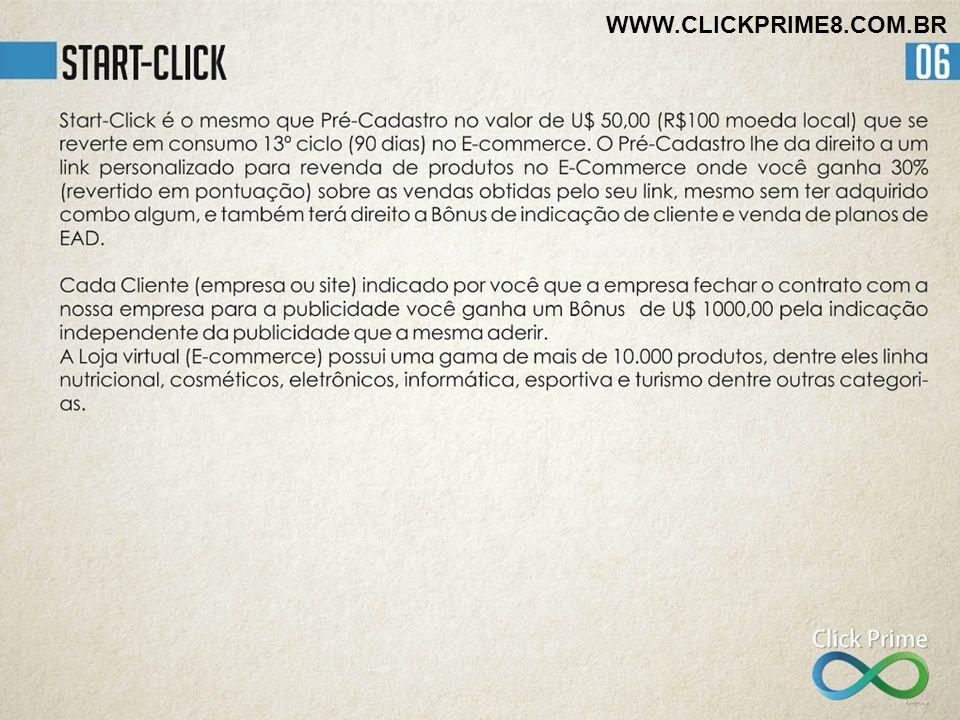 WWW.CLICKPRIME8.COM.BR Quais minhas obrigações e responsabilidade para garantir meu rendimento