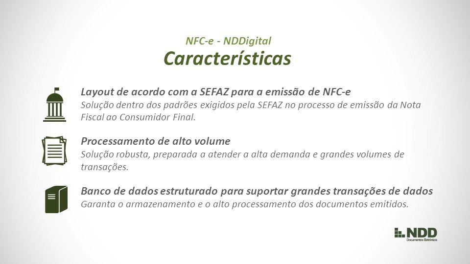 Características NFC-e - NDDigital