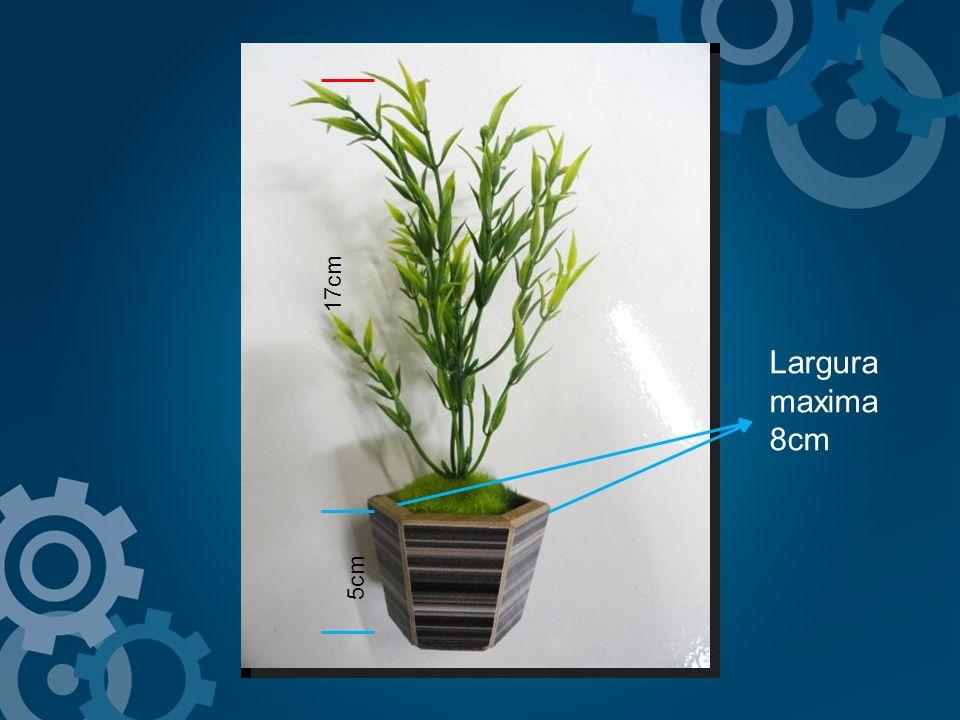 17cm Largura maxima 8cm 5cm