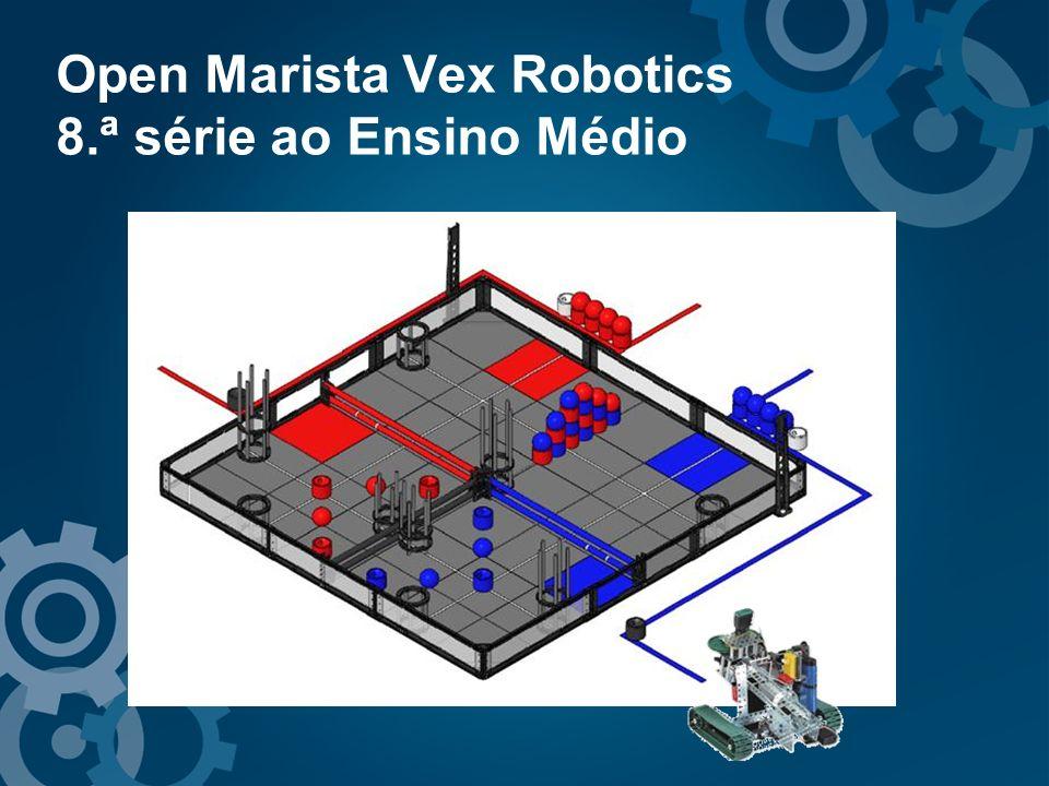 Open Marista Vex Robotics 8.ª série ao Ensino Médio