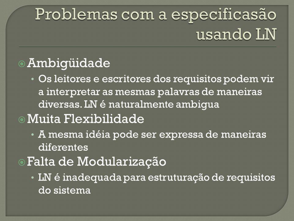 Problemas com a especificasão usando LN