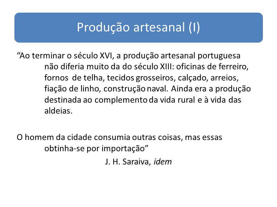 Produção artesanal (I)