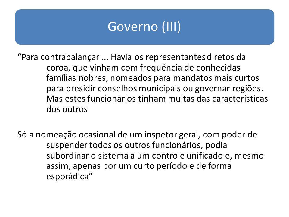 Governo (III)