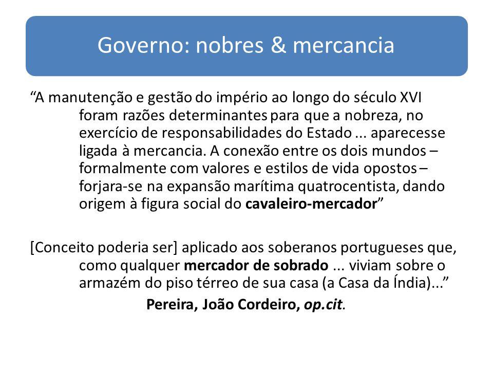 Governo: nobres & mercancia