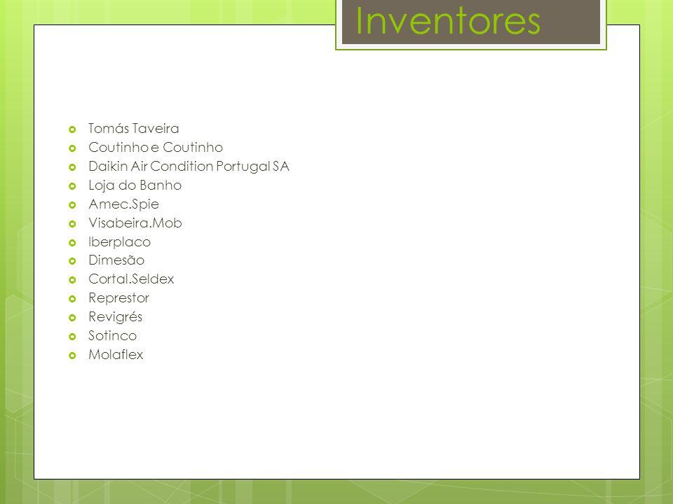 Inventores Tomás Taveira Coutinho e Coutinho