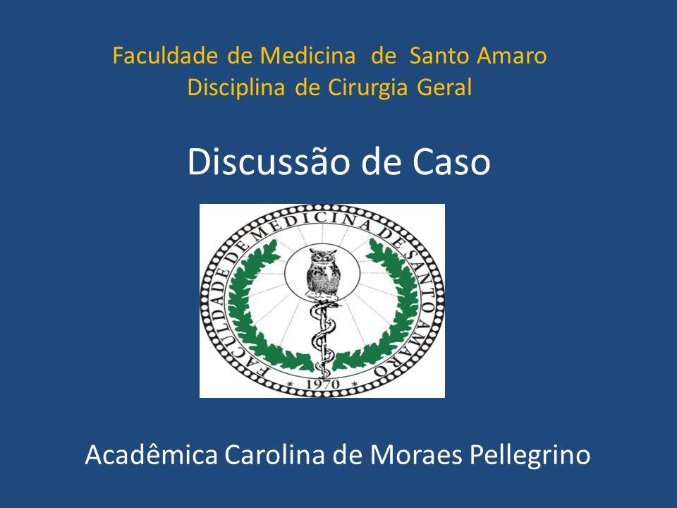Acadêmica Carolina de Moraes Pellegrino