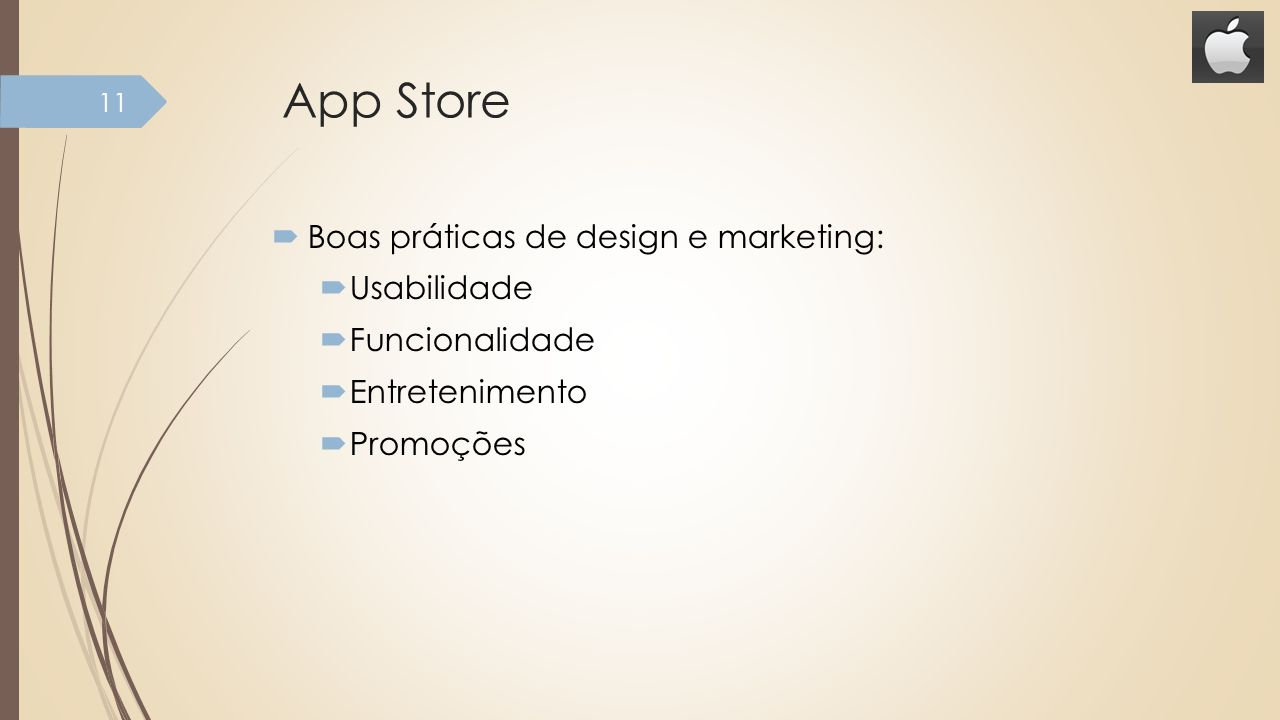 App Store Boas práticas de design e marketing: Usabilidade
