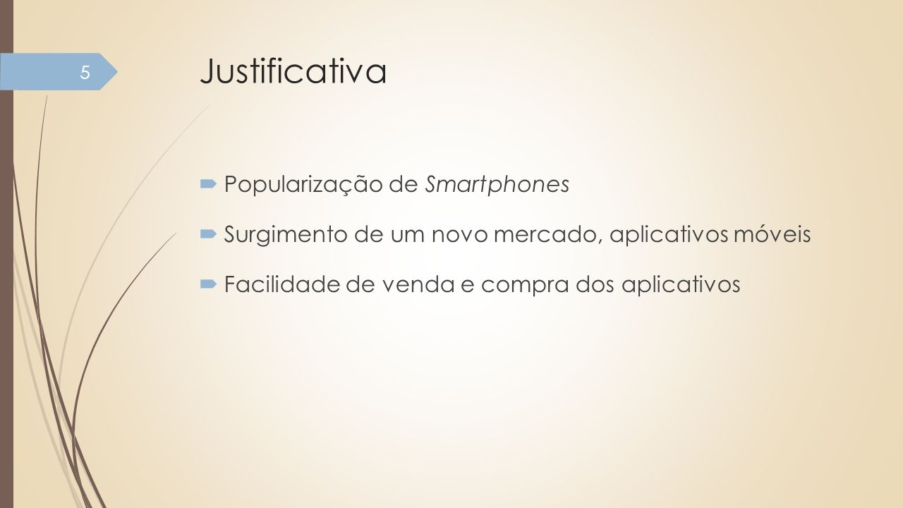 Justificativa Popularização de Smartphones