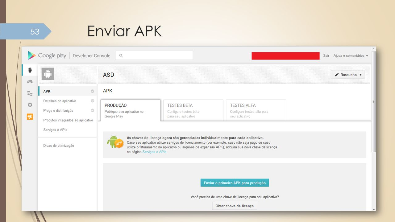 Enviar APK
