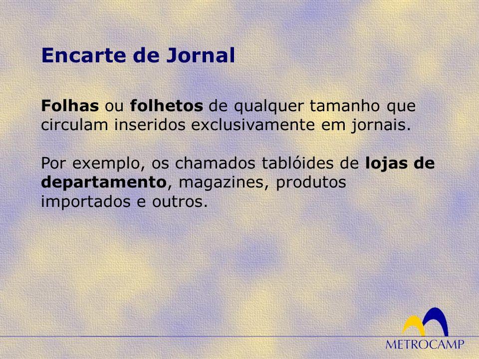 Encarte de Jornal