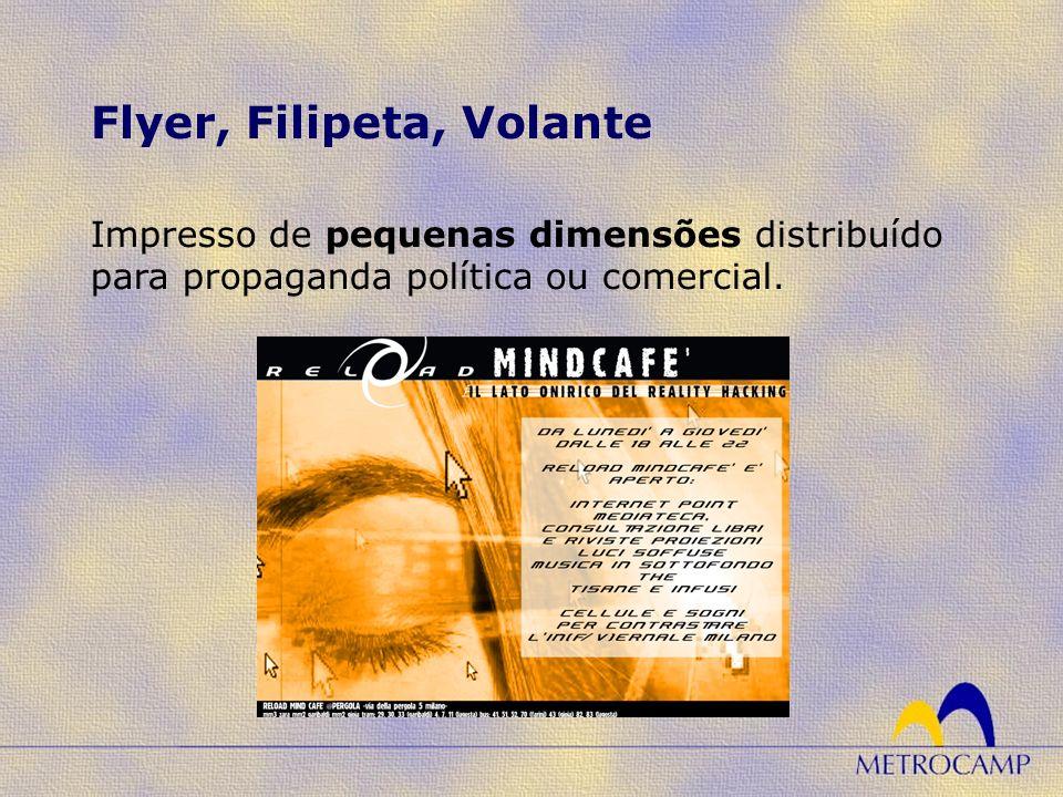 Flyer, Filipeta, Volante