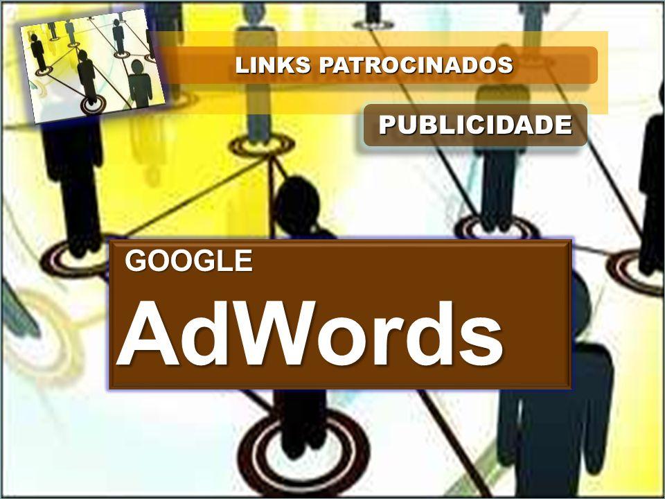 LINKS PATROCINADOS PUBLICIDADE GOOGLE AdWords