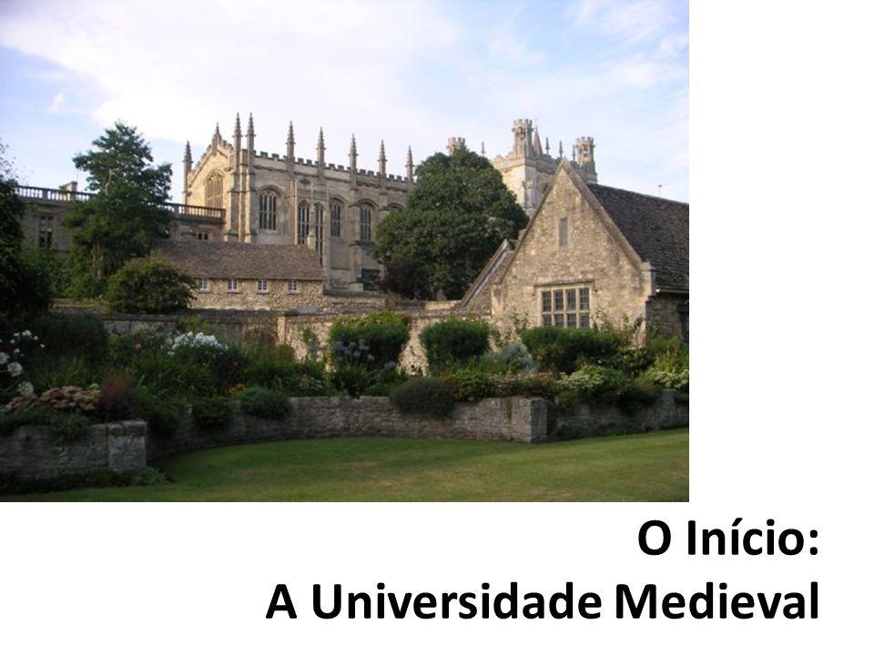 O Início: A Universidade Medieval