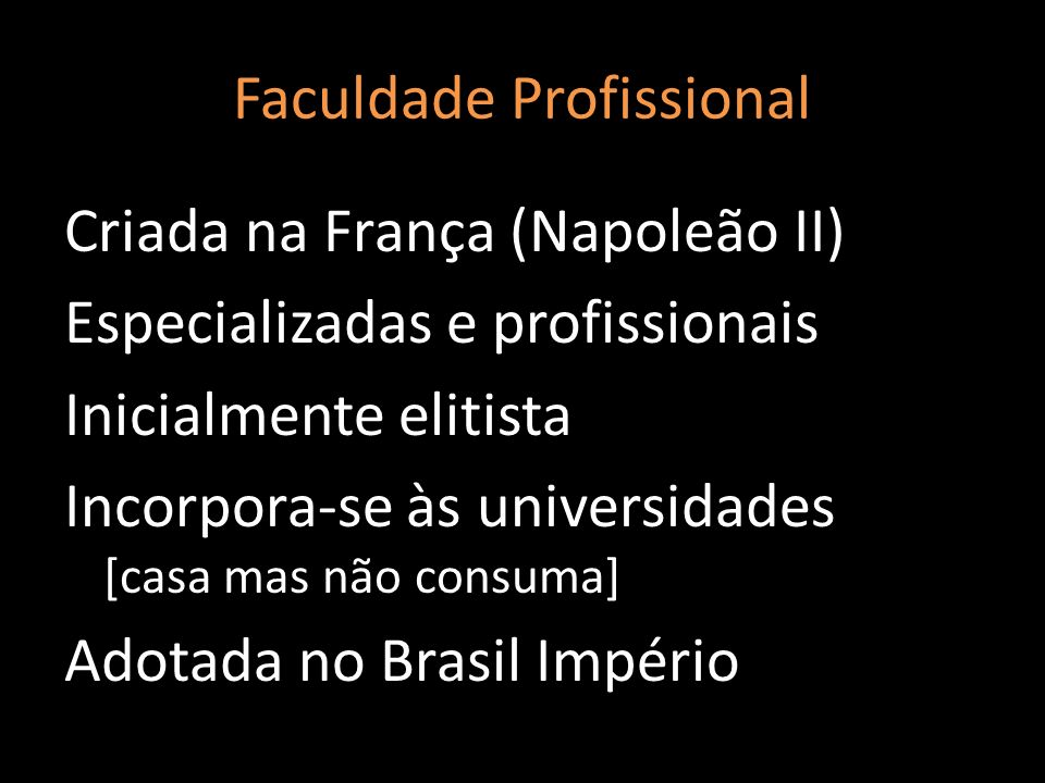 Faculdade Profissional