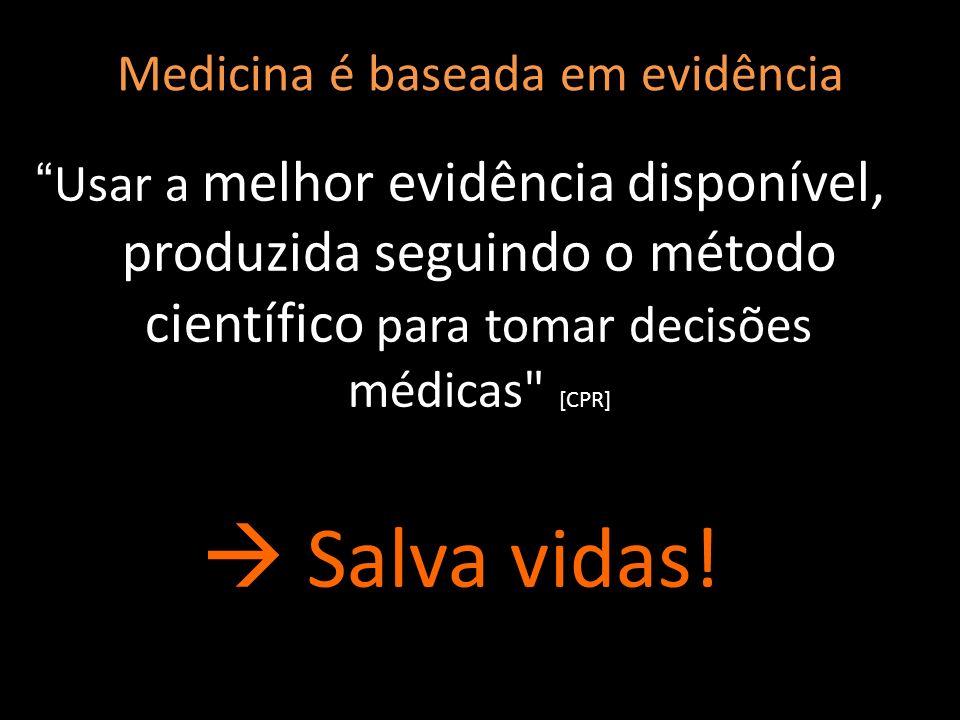Medicina é baseada em evidência