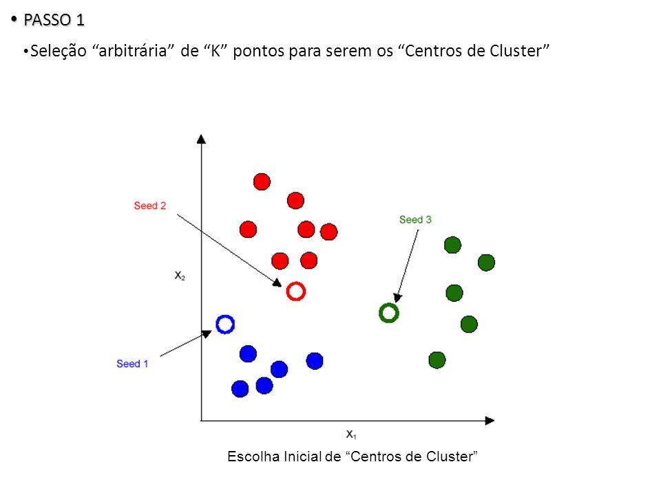 Escolha Inicial de Centros de Cluster
