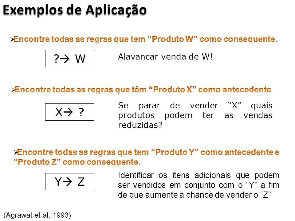 Exemplos de Aplicação  W X Y Z
